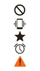 Explicação dos ícones - Motorola Moto E (2ª Geração) - Passo 6