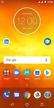 Como bloquear chamadas de um número específico - Motorola Moto E5 - Passo 2