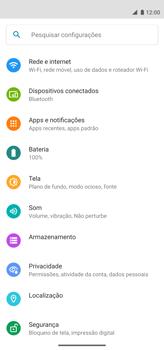 Como configurar uma rede Wi-Fi - Motorola Moto G8 Power - Passo 3