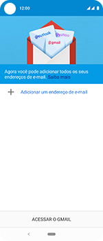 Como configurar seu celular para receber e enviar e-mails - Motorola One Vision - Passo 5