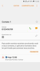 Como bloquear chamadas de um número específico - Samsung Galaxy J2 Prime - Passo 6