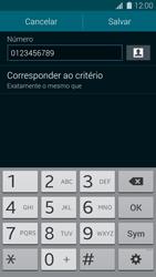 Como bloquear chamadas de um número específico - Samsung Galaxy S5 - Passo 13