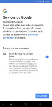 Como configurar seu celular para receber e enviar e-mails - Samsung Galaxy S9 Plus - Passo 12