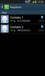 Como bloquear chamadas de um número específico - Samsung Galaxy Core Plus - Passo 11