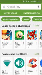 Como baixar aplicativos - Samsung Galaxy J3 Duos - Passo 4