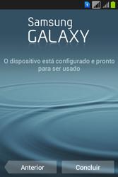 Como configurar pela primeira vez - Samsung Galaxy Young - Passo 14