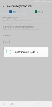 Como selecionar o tipo de rede adequada - Samsung Galaxy J4+ - Passo 10