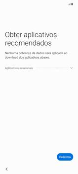 Como configurar pela primeira vez - Samsung Galaxy Note 20 5G - Passo 15