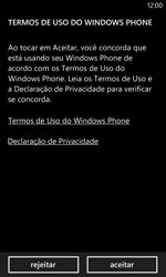 Como configurar pela primeira vez - Nokia Lumia 1020 - Passo 3