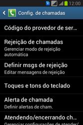 Como bloquear chamadas de um número específico - Samsung Galaxy Young - Passo 6