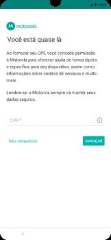 Como ativar seu aparelho - Motorola Moto E6 Plus - Passo 14