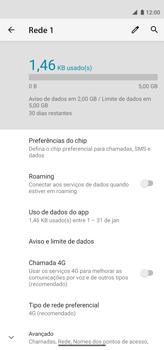 Como conectar à internet - Motorola Moto G8 Power - Passo 11
