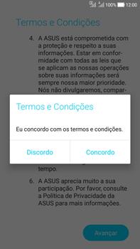 Como ativar seu aparelho - Asus Zenfone Selfie - Passo 11