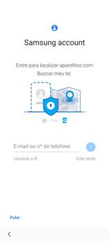 Como configurar pela primeira vez - Samsung Galaxy S21 Ultra 5G - Passo 16