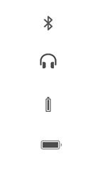 Explicação dos ícones - Apple iPhone 6 - Passo 23