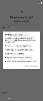 Como ativar seu aparelho - Motorola Moto G 5G Plus - Passo 5