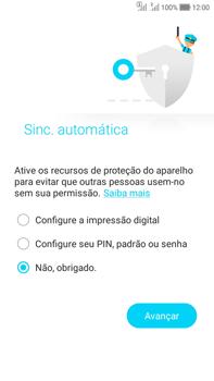 Como ativar seu aparelho - Asus Zenfone Selfie - Passo 17