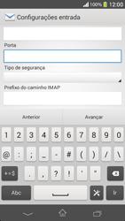 Como configurar seu celular para receber e enviar e-mails - Sony Xperia SP - Passo 11