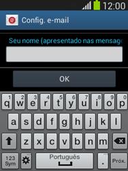 Como configurar seu celular para receber e enviar e-mails - Samsung Galaxy Pocket - Passo 22
