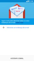 Como configurar seu celular para receber e enviar e-mails - Motorola Moto C Plus - Passo 5