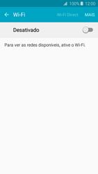 Como configurar uma rede Wi-Fi - Samsung Galaxy J2 Duos - Passo 4