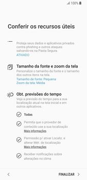 Como configurar pela primeira vez - Samsung Galaxy S9 - Passo 20