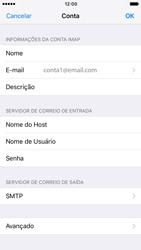 Como configurar seu celular para receber e enviar e-mails - Apple iPhone 6 - Passo 24