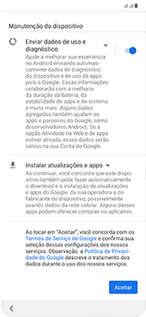 Como configurar pela primeira vez - Samsung Galaxy A50 - Passo 13