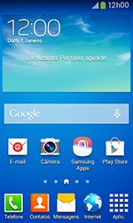 Como configurar seu celular para receber e enviar e-mails - Samsung Galaxy Grand Neo - Passo 1