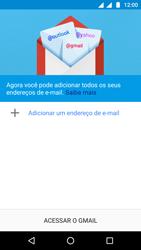 Como configurar seu celular para receber e enviar e-mails - Motorola Moto G5 - Passo 5