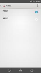 Como configurar a internet do seu aparelho (APN) - Sony Xperia E4G - Passo 16