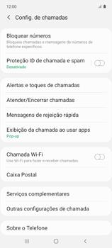 Como bloquear chamadas de um número específico - Samsung Galaxy A51 - Passo 7