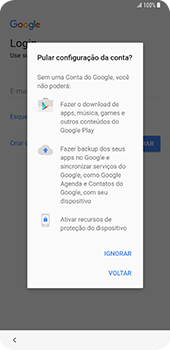Como configurar pela primeira vez - Samsung Galaxy S9 Plus - Passo 11