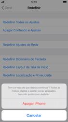 Como restaurar as configurações originais do seu aparelho - Apple iPhone 8 - Passo 7