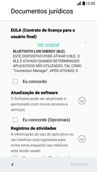 Como configurar pela primeira vez - LG G5 Stylus - Passo 12