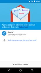 Como configurar seu celular para receber e enviar e-mails - Motorola Moto G5 - Passo 15