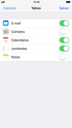 Como configurar seu celular para receber e enviar e-mails - Apple iPhone 6 - Passo 8