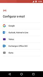 Como configurar seu celular para receber e enviar e-mails - Motorola Moto X4 - Passo 7