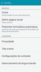 Como configurar a internet do seu aparelho (APN) - Samsung Galaxy S5 - Passo 20