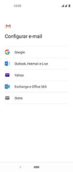 Como configurar seu celular para receber e enviar e-mails - Motorola One Vision - Passo 7