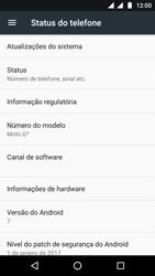 Como atualizar o software do seu aparelho - Motorola Moto G5 - Passo 5