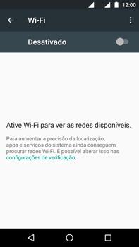 Como configurar uma rede Wi-Fi - Motorola Moto G (4ª Geração) - Passo 4