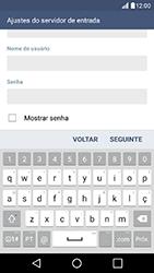 Como configurar seu celular para receber e enviar e-mails - LG K10 - Passo 11