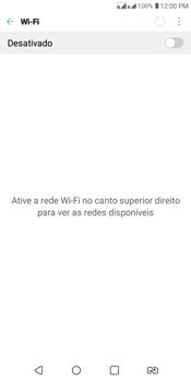 Como configurar uma rede Wi-Fi - LG K12+ - Passo 3