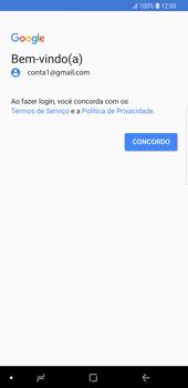 Como configurar seu celular para receber e enviar e-mails - Samsung Galaxy S9 Plus - Passo 11