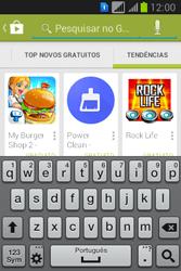 Como baixar aplicativos - Samsung Galaxy Young - Passo 13