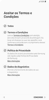 Como configurar pela primeira vez - Samsung Galaxy S9 Plus - Passo 9