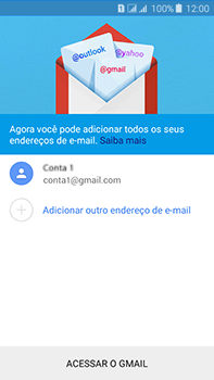 Como configurar seu celular para receber e enviar e-mails - Samsung Galaxy J7 - Passo 16
