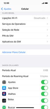 Como definir um aviso e limite de uso de dados - Apple iPhone 11 Pro - Passo 3