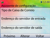 Como configurar seu celular para receber e enviar e-mails - Huawei U6020 - Passo 9